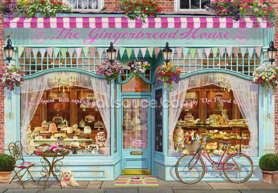 Cake Shop Wallpaper Wall Murals