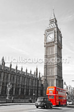 Big Ben and Houses of Parliament Wallpaper Wall Murals