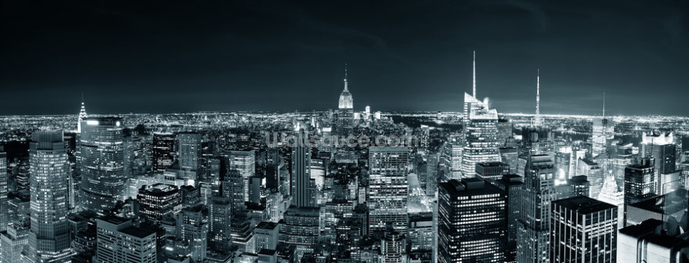 New York Manhattan Skyline Wallpaper Wall Murals