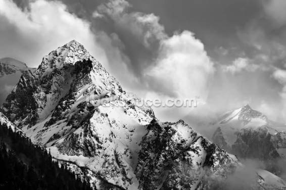 Moody Mountain Wallpaper Wall Murals