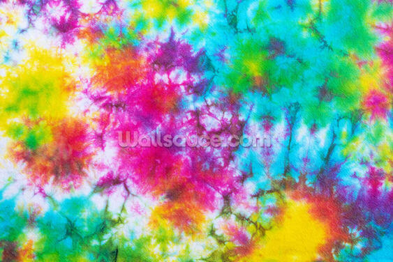 Rainbow Tie Dye Wallpaper Wall Murals
