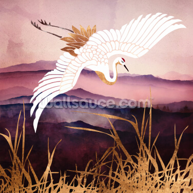 Elegant Flight III Wallpaper Wall Murals
