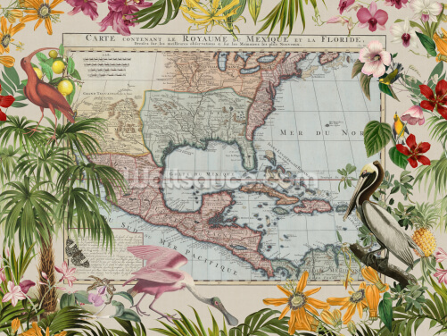 Caribbean Vibes Wallpaper Wall Murals