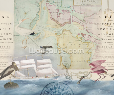 Long Island Seascape Wallpaper Wall Murals