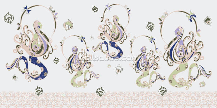 Mermaid Realm Wallpaper Wall Murals