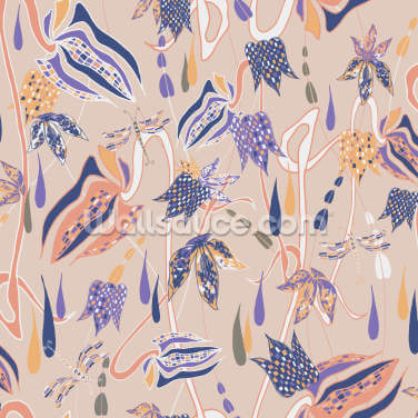 Fritillary Fancy Wallpaper Wall Murals
