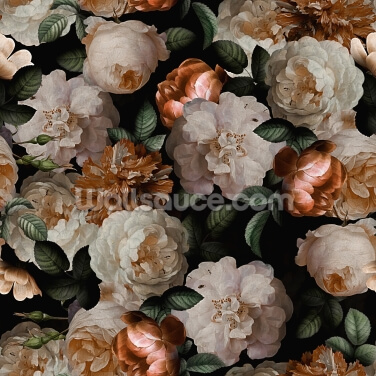 Mellow Flowers Wallpaper Wall Murals