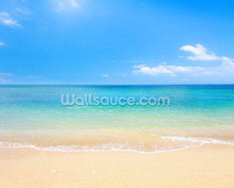 Beach and Tropical Sea Wallpaper Wall Murals