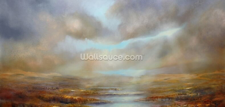 Ochre Expanse Wallpaper Wall Murals