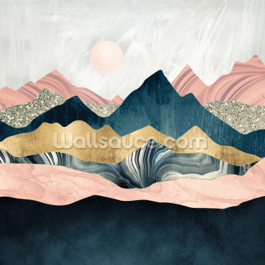 Plush Peaks Wallpaper Wall Murals