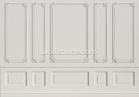Classic Panels Wallpaper Wall Murals