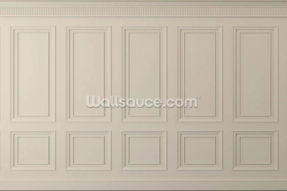 Beige Wood Panels Wallpaper Wall Murals