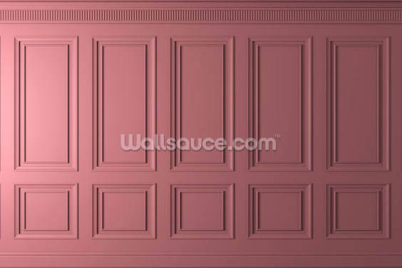 Pink Panels Wallpaper Wall Murals