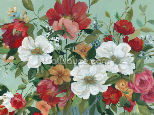 Classic Bouquet Wallpaper Wall Murals