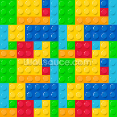 Toy Bricks Wallpaper Wall Murals