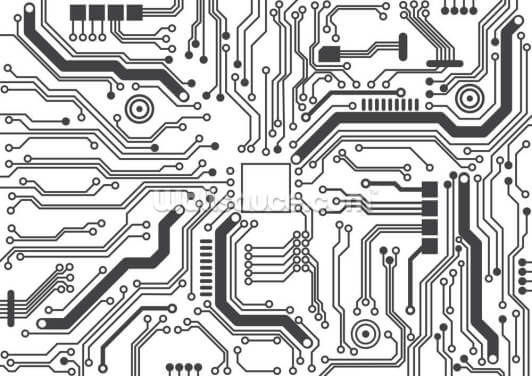 Circuit Board Background Texture Wallpaper Wall Murals