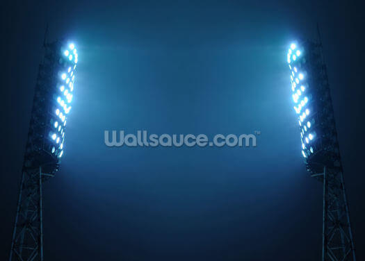 Stadium Lights Wallpaper Wall Murals