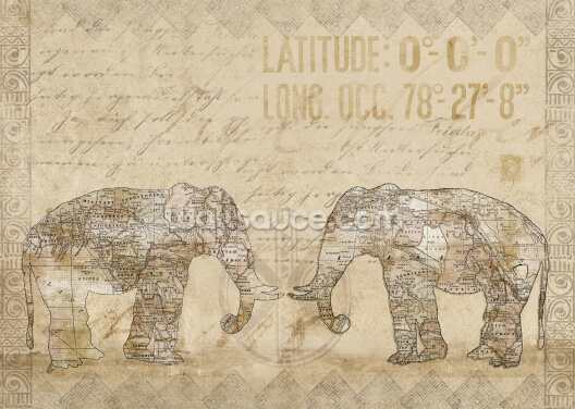 Elephants of Africa Wallpaper Wall Murals