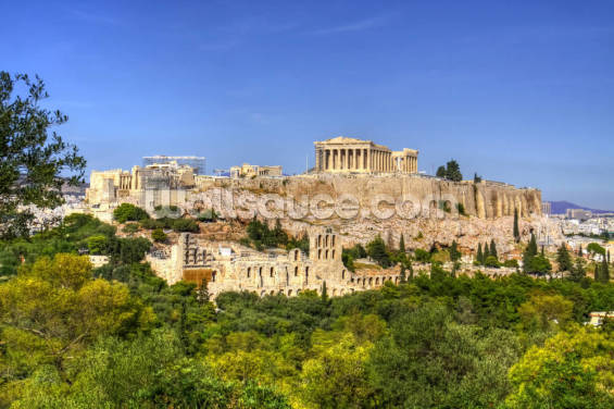The Acropolis, Athens Wallpaper Wall Murals