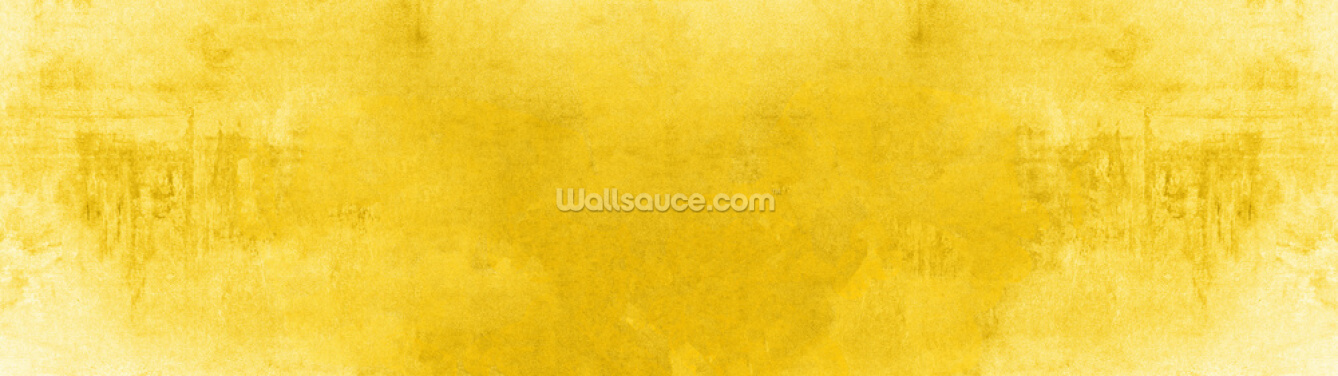 Textured Yellow Wallpaper Wall Murals