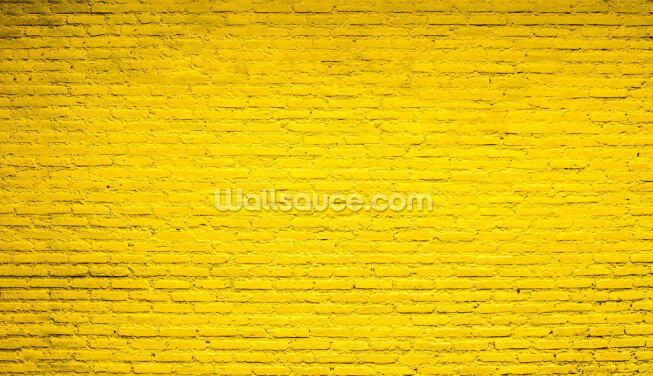 Rustic Yellow Wall Wallpaper Wall Murals