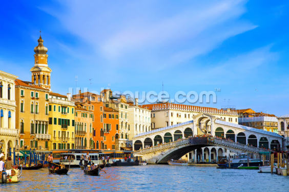 Rialto Bridge, Venice Wallpaper Wall Murals