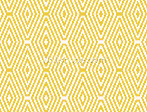 Yellow Vector Pattern Wallpaper Wall Murals