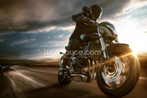 Fast Motorbike Wallpaper Wall Murals