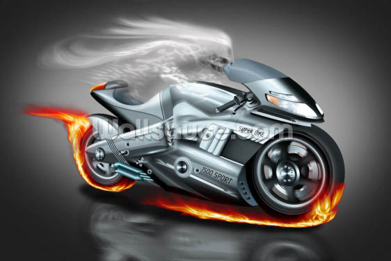 Ghostrider Wallpaper Wall Murals