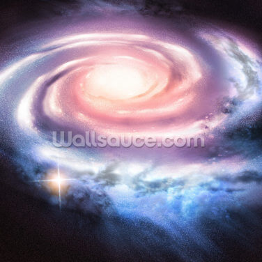 Distant Spiral Galaxy Wallpaper Wall Murals