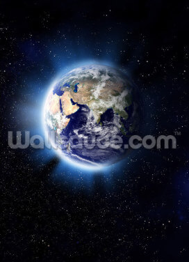 Earth Corona Wallpaper Wall Murals