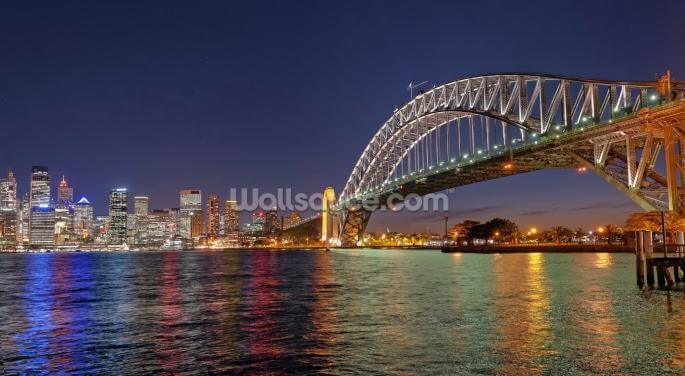 Sydney Harbour Bridge Reflections Wallpaper Wall Murals