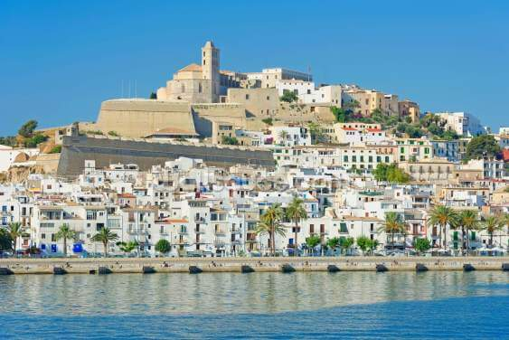 Ibiza Town Wallpaper Wall Murals