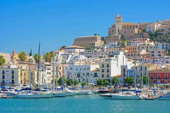Ibiza Harbour Wallpaper Wall Murals