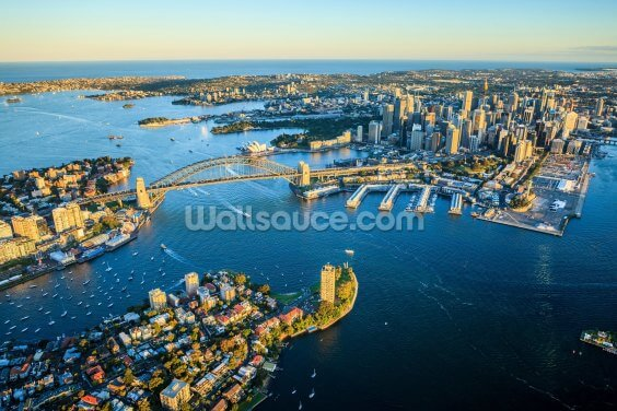 Sydney Cityscape Wallpaper Wall Murals