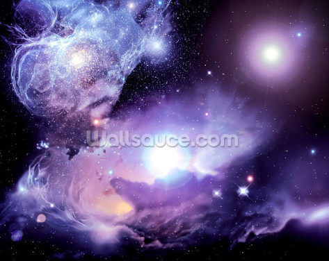 Fantasy Space Nebula Wallpaper Wall Murals