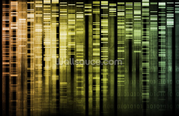 DNA Research Wallpaper Wall Murals