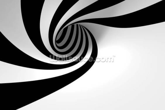 Abstract Spiral Wallpaper Wall Murals