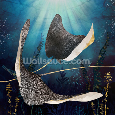 Stingray Wallpaper Wall Murals