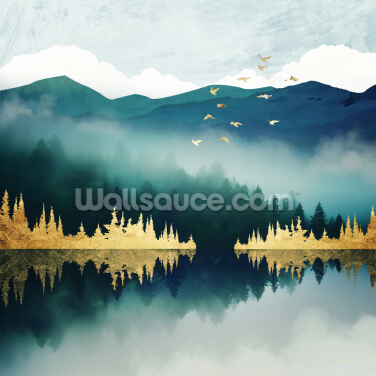 Mist Reflection Wallpaper Wall Murals