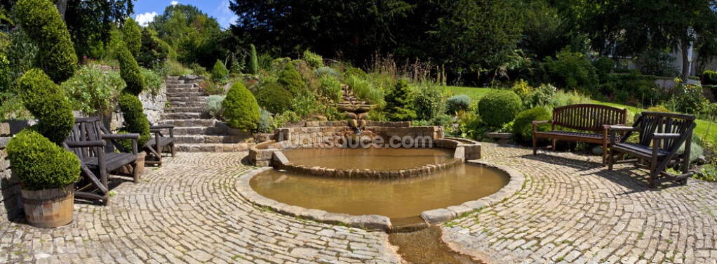 Chalice Well Gardens, Glastonbury Wallpaper Wall Murals