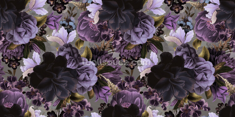 Lovely Lilacs Wallpaper Wall Murals