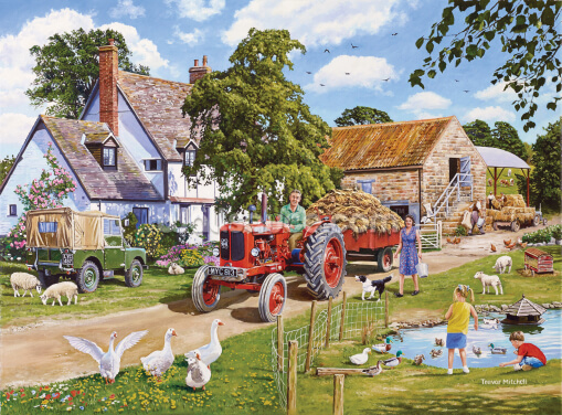A Family Farm Wallpaper Wall Murals