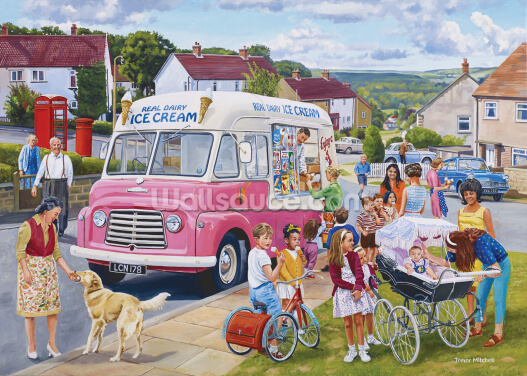 The Ice Cream Van Wallpaper Wall Murals