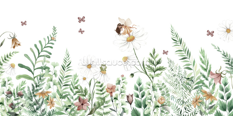 Fairy Garden Wallpaper Wall Murals