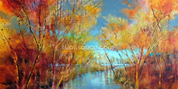 Autumn Joys Wallpaper Wall Murals