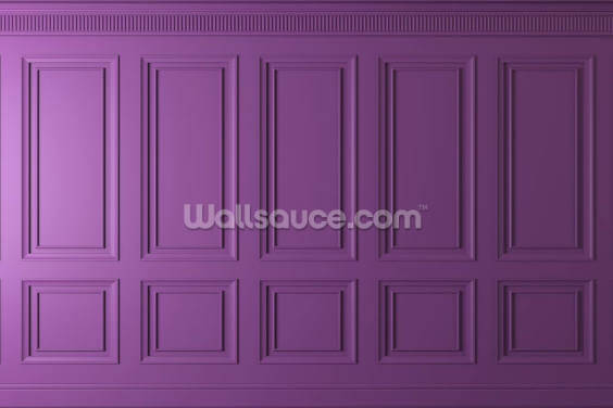 Perfect Purple Panels Wallpaper Wall Murals