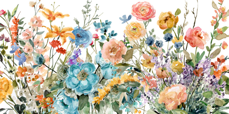 Floral Eye Candy Wallpaper Wall Murals