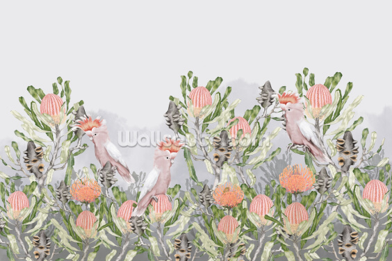 Banksia Habitat Wallpaper Wall Murals