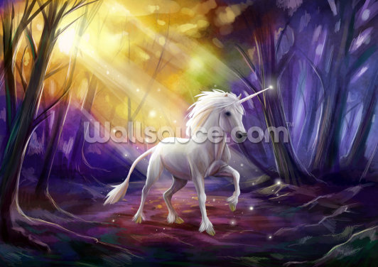 Unicorn Path Wallpaper Wall Murals